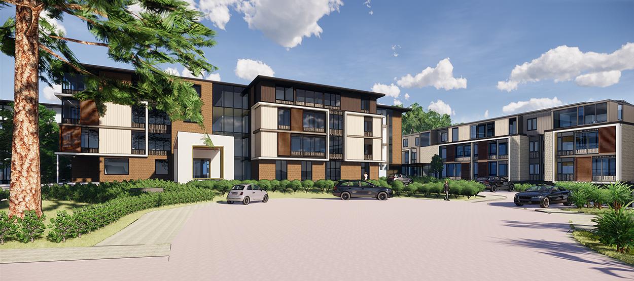 Orewa Coastal Retirement Resort - Main Entry