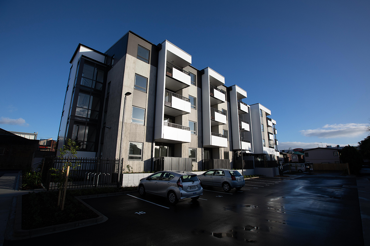 Galway Street Apartments - Opening