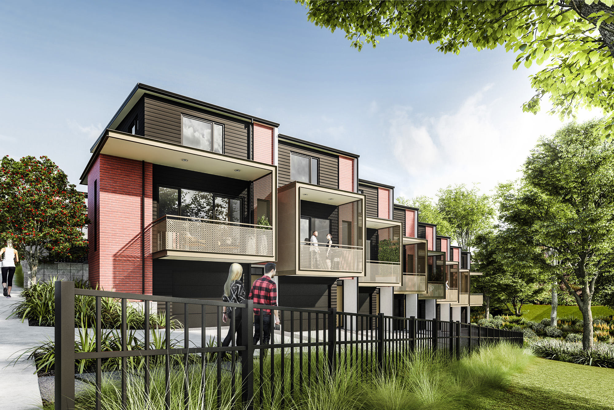 Northern Glen Innes Redevelopment - Parkside Render P19