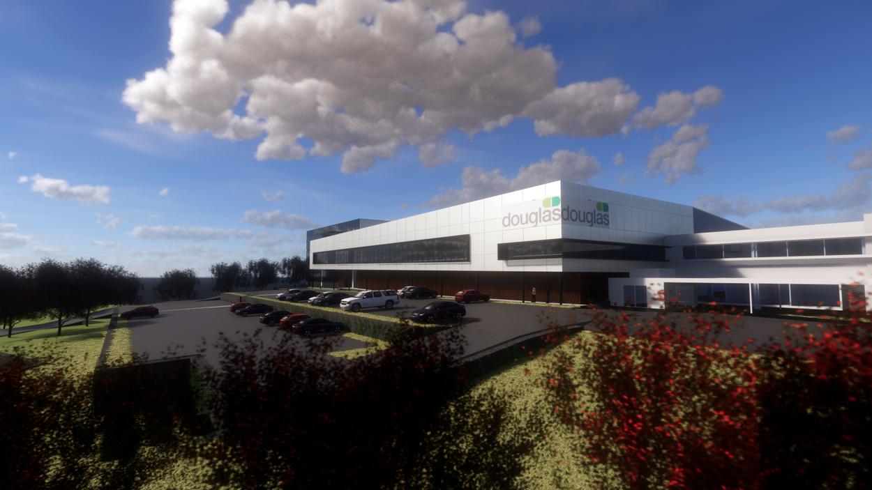 Douglas Pharmaceuticals R&D Building Render