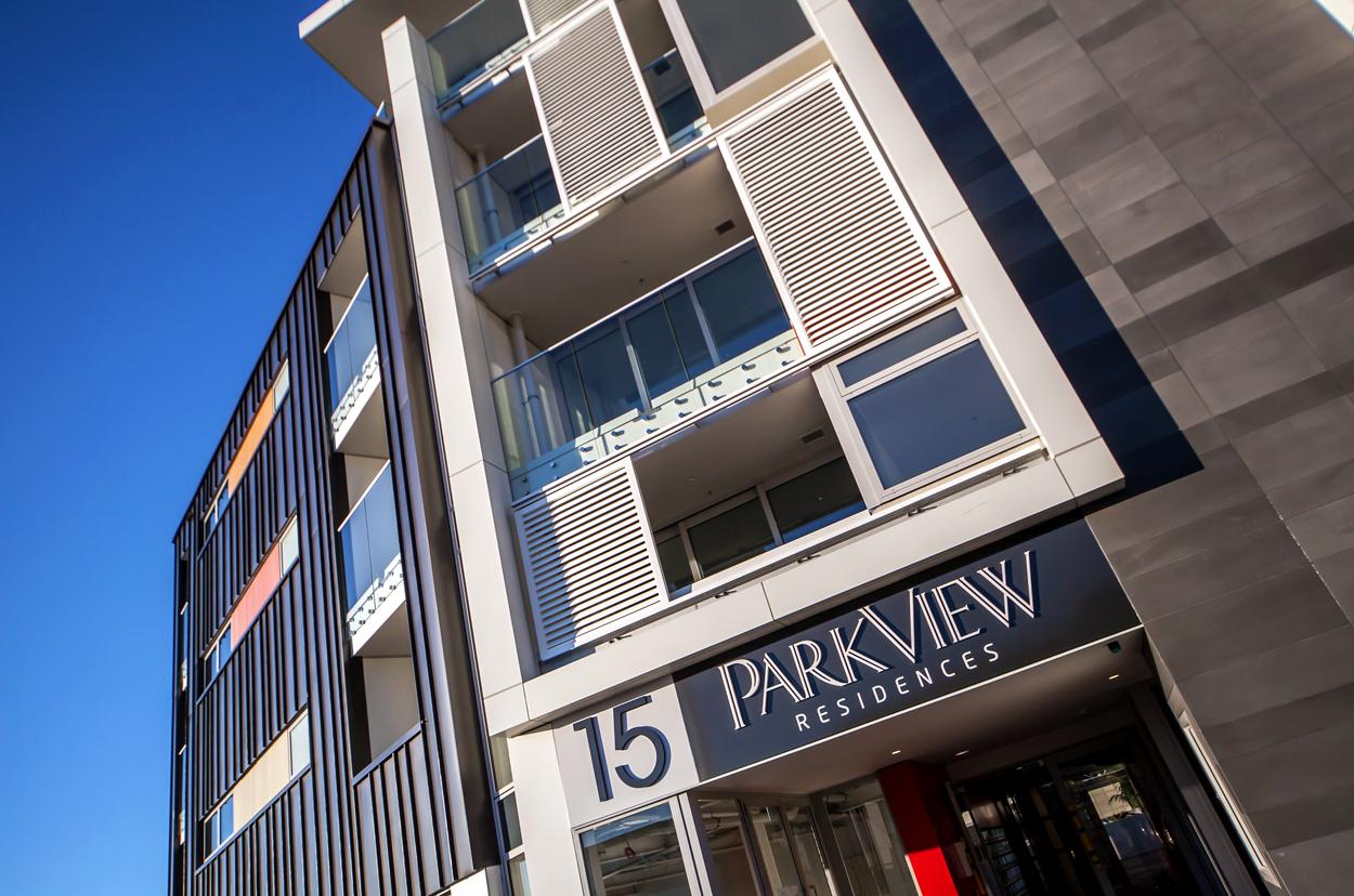Parkview Apartments, Rendall Place - Ashton Mitchell