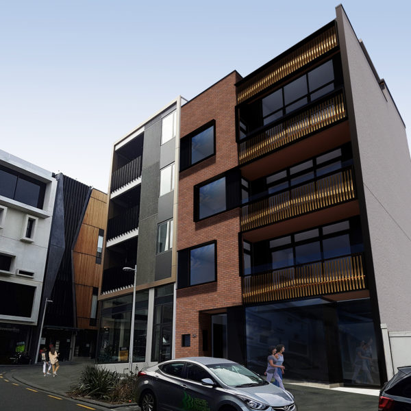 Vinegar Lane Mixed-Use Apartments, Ponsonby
